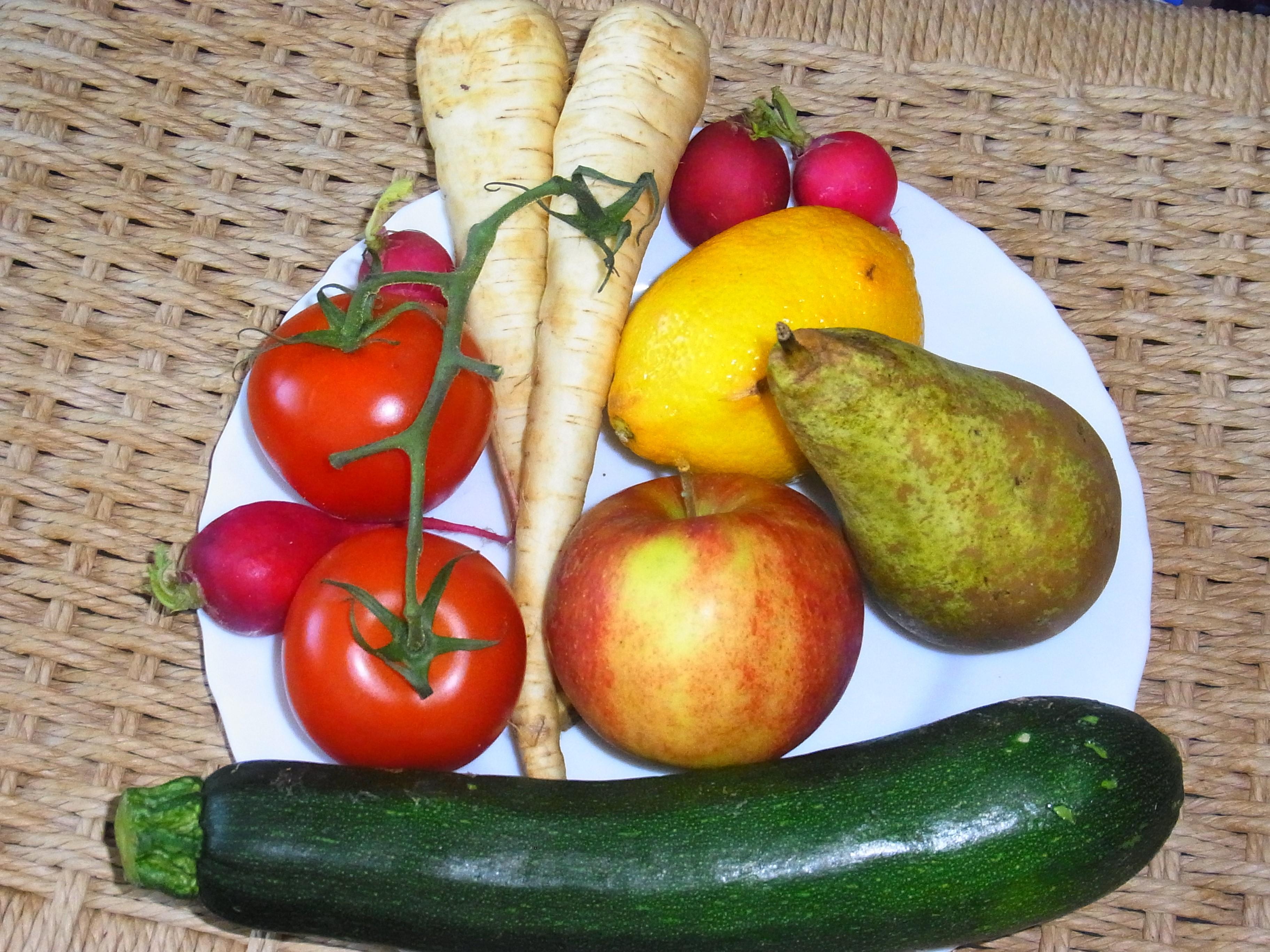 fünfmal am tag obst und gemüse